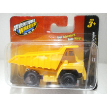 Adventure Wheels Camion De Carga Amarillo 1:64
