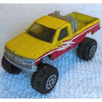 Chevy Pick Up K-1500 4x4, Matchbox, Hecha En China En 1993