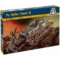 Italeri Tanque Pz Kpfw.l Ausf.b 1/35 Armar Y Pintar Fotocort