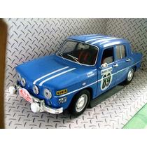1967 Renault 8 Gordini Rally Montecarlo 1/18