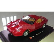 1:24 Ferrari 550 Maranello Rojo Bburago Burago 1/24