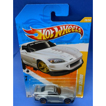 2010 Hot Wheels Premiere Honda S2000 Plata # 20