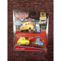 Luigi Y Guido Cars Disney Pixar Mattel Etiqueta Americana.