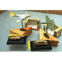 Lee Mi Anunc Lote 2 Aviones & 2 Vehiculo Militar 1/144 1/220