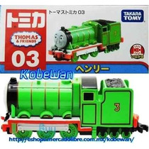 Tomica Tren Thomas & Friends Henry Locomotora Metalica Henrr