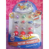 Hot Wheels Squinkies Figuras Miniatura Serie 3