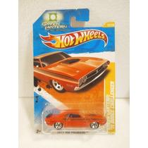 Hot Wheels Linterna Verde 71 Dodge Challenger 12/244 2011