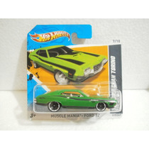 Hot Wheels 72 Ford Gran Torino Sport Verde 117/247 2012 Tc