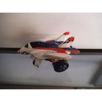 Avion Blanco Tipo Micro Machines Road Champs Vintage