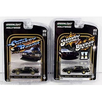 Greenlight Set Smokey And The Bandit Pontiac Trans Am 77- 80