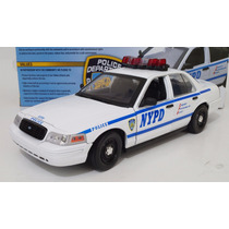 Ford Crown Victoria Police Interceptor Nypd Greenlight 1:18