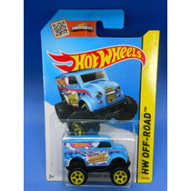 2013 Hot Wheels Monster Dairy Delivery Azul Hw Off-road