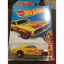 Hot Wheels 69 Dodge Charger (flames 1/10)
