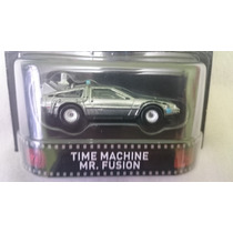 Hot Wheels Retro Time Machine, Volver Al Futuro, Mister Fusi