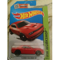 Hot Wheels 15 Dodge Challenger Srt (rojo) 2015