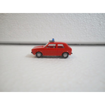 Wiking Vw Volkswagen Caribe Golf Bomberos Rojo 1:87
