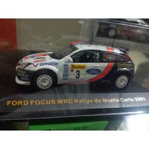Ford Focus Wrc. Rally Montecarlo # 3 2001. Esc. 1:43