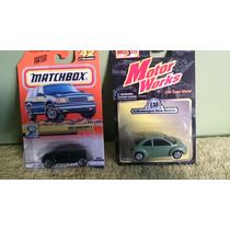 Lote 2 Matchbox 1/64, Vw Beetle Maisto