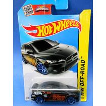 2013 Hot Wheels 2008 Lancer Evolution # 77 Hw Off-road