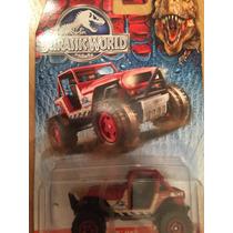 Carrito Jeep Jurassic World Hotwheels