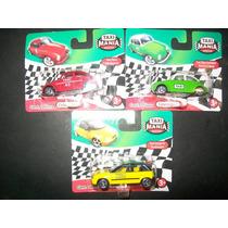 Gcg Lote De Carritos Camioneta Vw Taxi Mania Mexico 3 Pzas