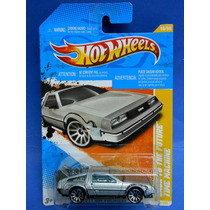 2011 Hot Wheels Premiere Back To The Future Time Machine