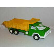 Antiguo Camión De Volteo Tootsietoy 1970s Metal Plástico