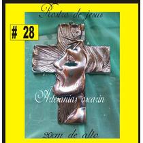 Recuerdo, Rostro De Jesus De Pewter #28