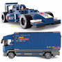 Auto Fórmula 1 Con Trailer Sluban Armable