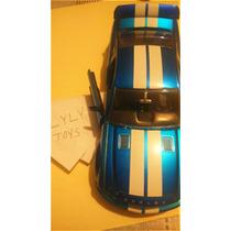 Ford Shelby Gt500 2008 Azul Metalico Super Detallado Jada