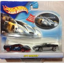 Hot Wheels Spy Hunter Set 2 Carros