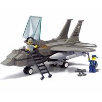 Avión Militar F-15, Sluban Figura Armable