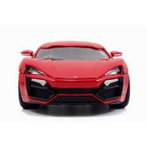 Carro A Escala R&f Lycan Hypersport 1.24