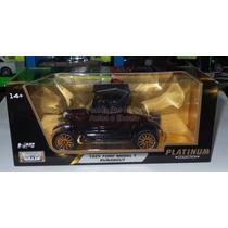 1:24 Ford Model T 1925 Runabout Motor Max Platinum C Caja