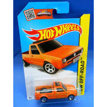 2013 Hot Wheels Volkswagen Caddy Naranja # 124 Hw Off-road