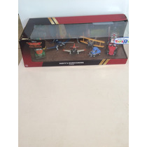 Dusty Planes Fire And Rescue Set 6pza 1:55 Disney Store