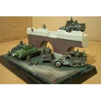 Lee Anun Lot Diorama & 5 Vehiculo Us C 20 Figura 1/72