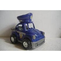 Vocho Vw Beetle Patrulla - Camioncito Juguete Carrito Escala