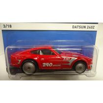 Hotwheels Heritage Datsun 240z Llantas De Goma Ganalo...!!