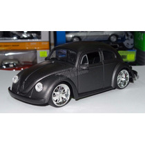 1:24 Volkswagen Beetle 1959 Gris Mate Jada Vocho Display