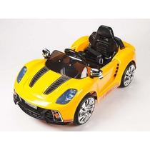 Carrito Electrico Porsche 919 Amarillo Control Remoto Luces