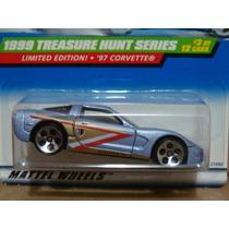 Hot Wheels Collector 931 1999 97 Corvette Trea$ure Hunt