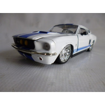 Ford Mustang Shelby 1967 Jada 1/24 Coleccion Auto