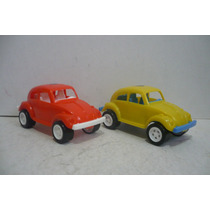 Vocho Vw Beetle Volkswagen Set De 2 - Carro D Juguete Escala