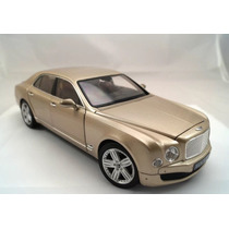 2010 Bentley Mulsanne Champagne Escala 1/18 Rastar