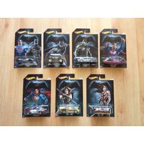 Set 7 Hot Wheels Pelicula Batman Vs Superman Completa !!!