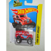 Hot Wheels Monster Dairy Delivery Rojo