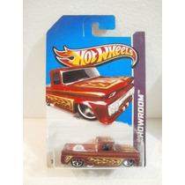 Hot Wheels Camioneta 62 Chevy Guinda 162/250 2013