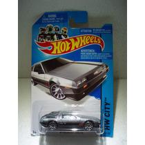 Hot Wheels 81 Delorean Dmc 12 Gris 33/250 2014