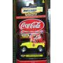 Matchbox Cocacola 1998 Jeep Wrangler Llantas De Goma